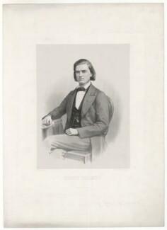 Henry Holmes, by Carl Marius Nikolai Simonsen, printed by  Em. Bærentzen & Co - NPG D35931