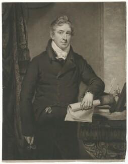 George Holme-Sumner, by William Ward, after  Thomas Stewardson - NPG D35934