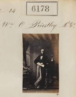 Sir William Overend Priestley, by Camille Silvy - NPG Ax56124