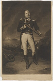 Thomas Cochrane, 10th Earl of Dundonald, by Henry Meyer, after  James Ramsay - NPG D36026