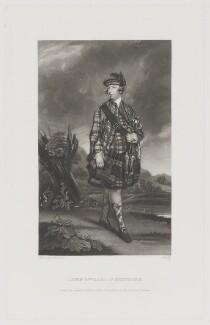 John Murray, 4th Earl of Dunmore, by James Scott, after  Sir Joshua Reynolds - NPG D36035