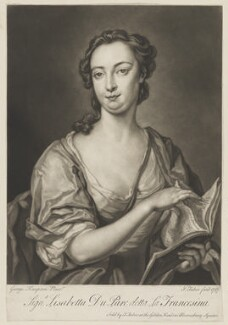 Lisabetta Du Parc ('La Francesina'), by and sold by John Faber Jr, after  George Knapton - NPG D36040