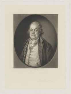 Philip Dupont, by Richard Josey, after  Thomas Gainsborough - NPG D36041