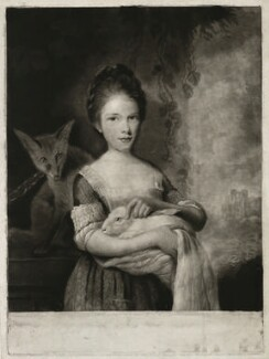Lydia Hone, by Charles Phillips, after  Nathaniel Hone - NPG D35946