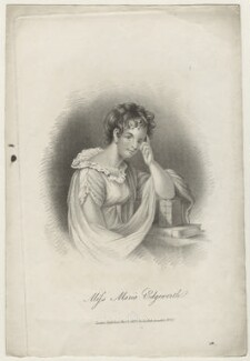 Unknown woman engraved as Maria Edgeworth, by Unknown artist, published 1 November 1822 - NPG D36046 - © National Portrait Gallery, London
