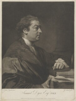 Samuel Dyer, by and sold by Giuseppe Filippo Liberati ('Joseph') Marchi, after  Sir Joshua Reynolds - NPG D36054