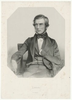 Sir Joseph Dalton Hooker, by Thomas Herbert Maguire, printed by  M & N Hanhart - NPG D35962