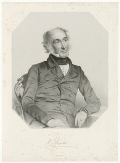 Sir William Jackson Hooker, by Thomas Herbert Maguire, printed by  M & N Hanhart - NPG D35963