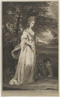 Anna Maria (née Lewis), Countess of Tollemache, by and published by John Jones, after  Sir Joshua Reynolds - NPG D36058