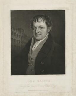John Hooper, by John P. Quilley, published by  James Ryman, after  Hugh Hughes - NPG D35965