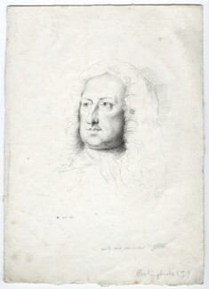 Henry St John, 1st Viscount Bolingbroke, by George Perfect Harding, after  Jonathan Richardson - NPG D36125