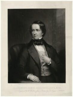 Alexander James Beresford Beresford Hope, by William Walker, after  Reuben Thomas William Sayers - NPG D35966