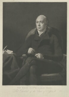 Charles Hope, Lord Granton, by Henry Edward Dawe, published by  Robert Scott, published by  David Hutton, after  Sir Henry Raeburn - NPG D35967