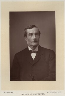Hugh Lupus Grosvenor, 1st Duke of Westminster, by W. & D. Downey, published by  Cassell & Company, Ltd - NPG x27318