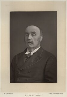 Sir Lewis Morris, by W. & D. Downey, published by  Cassell & Company, Ltd - NPG x21417
