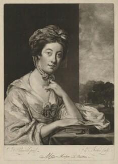 Mary Hope (née Breton), by Edward Fisher, after  Sir Joshua Reynolds - NPG D35976