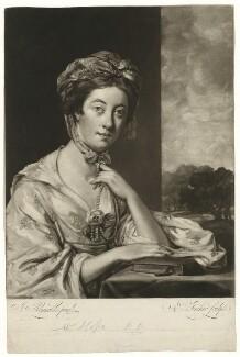 Mary Hope (née Breton), by Edward Fisher, after  Sir Joshua Reynolds - NPG D35977