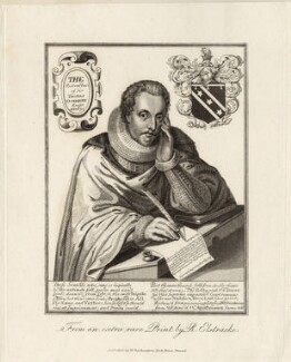 Sir Thomas Overbury, published by William Richardson, after  Renold or Reginold Elstrack (Elstracke) - NPG D27974