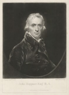 John Hoppner, by and published by Charles Turner, after  John Hoppner, published 27 February 1805 (circa 1800) - NPG D35988 - © National Portrait Gallery, London