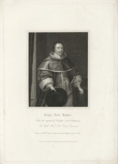Ralph Hopton, 1st Baron Hopton of Stratton, by George Parker, published by  Harding, Triphook & Lepard, after  William Derby, after  Sir Anthony van Dyck - NPG D35990