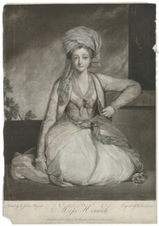 Mary Gwyn (née Horneck), by Robert Dunkarton, published by  Walter Shropshire, after  Sir Joshua Reynolds - NPG D35994