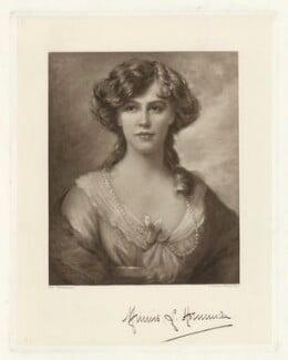 Minnie Louisa Horniman (née Bennett), by Frederick John Jenkins, after  Ellis William Roberts - NPG D35995