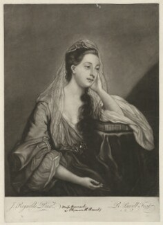 Hannah Horneck (née Triggs), by Richard Purcell (H. Fowler, Charles or Philip Corbutt), after  Sir Joshua Reynolds - NPG D35996