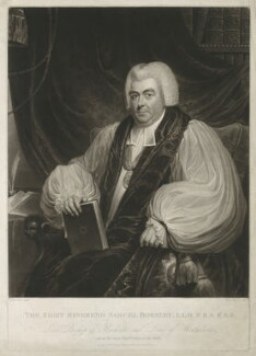 Samuel Horsley, by Henry Meyer, published by  Robert Cribb & Son, after  James Green - NPG D35998