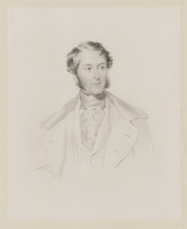 Robert Grosvenor, 1st Baron Ebury, by Frederick Christian Lewis Sr, after  George Richmond - NPG D36066