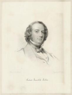 Richard Monckton Milnes, 1st Baron Houghton, by William Holl Jr, after  George Richmond - NPG D36004