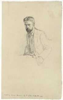 Laurence Housman, by William Rothenstein - NPG D36005