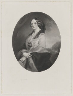 Emma (née Sidney), Lady Edwardes, by George Thomas Doo, after  Richard Buckner - NPG D36079