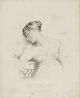 Elizabeth ('Eliza') (née O'Neil), Lady Wrixon-Becher when Miss O'Neill as Juliet, by Frederick Christian Lewis Sr, after  George Dawe - NPG D35815