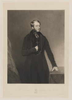 William Tatton Egerton, 1st Baron Egerton of Tatton, by Charles Turner, printed by  Brooker & Harrison, published by  Thomas Agnew, after  John Bostock - NPG D36082