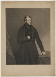William Tatton Egerton, 1st Baron Egerton of Tatton, by Charles Turner, printed by  Brooker & Harrison, published by  Thomas Agnew, after  John Bostock - NPG D36083