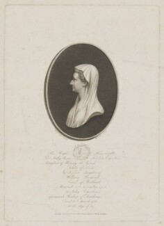 Lady Anne Sophia Egerton (née de Grey), by William Evans, published by  Edward Orme, after  Henry Edridge - NPG D36084