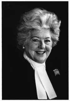 Betty Boothroyd, Baroness Boothroyd, by Boo Beaumont - NPG x87558