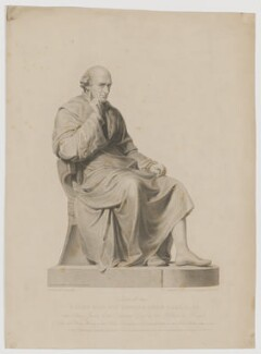 Sir Edward Hyde East, 1st Bt, by Frederick Christian Lewis Sr, after  Henry Corbould, after  Sir Francis Leggatt Chantrey - NPG D36095