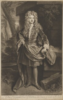 John Perceval, 1st Earl of Egmont, by John Smith, after  Sir Godfrey Kneller, Bt - NPG D36098