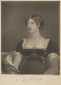 Elizabeth ('Eliza') (née O'Neil), Lady Wrixon-Becher when Miss O'Neill, by William Say, published by  Daniel Cox, after  John James Masquerier - NPG D35818