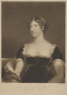 Elizabeth ('Eliza') (née O'Neil), Lady Wrixon-Becher when Miss O'Neill, by William Say, published by  Daniel Cox, after  John James Masquerier - NPG D35819