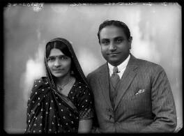 Mrs Hansa Mehta; Jivraj Narayan Mehta, by Bassano Ltd - NPG x153952