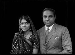 Mrs Hansa Mehta; Jivraj Narayan Mehta, by Bassano Ltd - NPG x153953