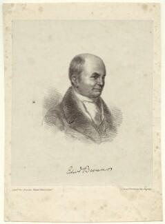 Edward Bevan, printed by Jérémie Graf - NPG D36217