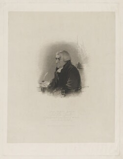 John Scott, 1st Earl of Eldon, by William Holl Sr, published by  Robert Cribb & Son, after  William Behnes - NPG D36134