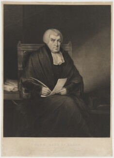 John Scott, 1st Earl of Eldon, by Henry Edward Dawe, published by  Zachariah Sweet, after  Charles Penny - NPG D36135