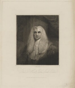 John Scott, 1st Earl of Eldon, by and published by Charles Picart - NPG D36137