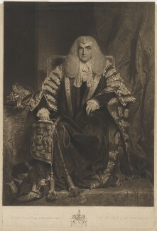 John Scott, 1st Earl of Eldon, by Henry Meyer, published by  Colnaghi & Co, after  William Owen - NPG D36138