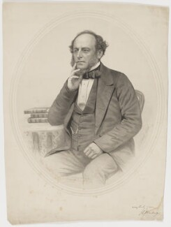 J.L. Ellenberger, by George B. Black, after  Ash, 1860 - NPG D36143 - © National Portrait Gallery, London