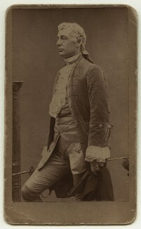 Sir Charles Wyndham (Charles Culverwell) as David Garrick in 'David Garrick', by Herbert Rose Barraud - NPG x12588